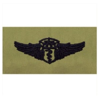 Vanguard AIR FORCE EMBROIDERED BADGE: FLIGHT SURGEON: CHIEF - ABU