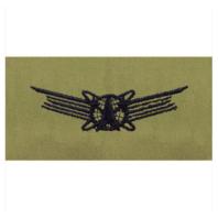 Vanguard AIR FORCE EMBROIDERED BADGE: SPACE BASIC - ABU