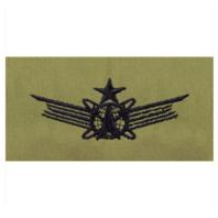 Vanguard AIR FORCE EMBROIDERED BADGE: SPACE SENIOR - ABU