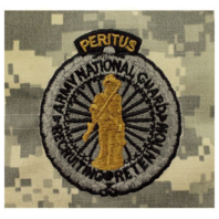 Vanguard ARMY IDENTIFICATION BADGE ACU MASTER NAT'L GUARD RECRUITING & RETENTION