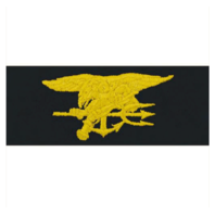 Vanguard NAVY EMBROIDERED BADGE: SPECIAL WARFARE - EMBROIDERED ON COVERALL