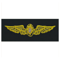 Vanguard NAVY EMBROIDERED BADGE: FLIGHT SURGEON - EMBROIDERED ON COVERALL