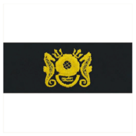 Vanguard NAVY EMBROIDERED BADGE: DIVING OFFICER - EMBROIDERED ON COVERALL