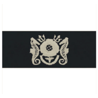 Vanguard NAVY EMBROIDERED BADGE: DIVING MEDICAL TECHNICIAN ENLISTED - COVERALL
