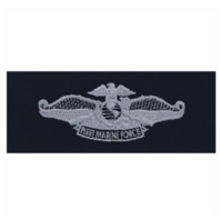 Vanguard Navy Fleet Marine Force Embroidered Badge on Coverall