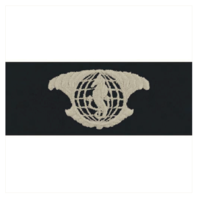 Vanguard NAVY EMBROIDERED BADGE: INTEGRATED UNDERSEA SURVEILLANCE - COVERALL