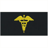 Vanguard NAVY EMBROIDERED COLLAR DEVICE: PHYSICIAN ASSISTANT - COVERALL