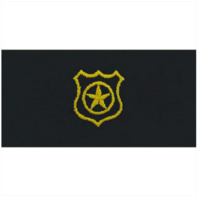 Vanguard NAVY EMBROIDERED COLLAR DEVICE: PHYSICAL SECURITY - COVERALL