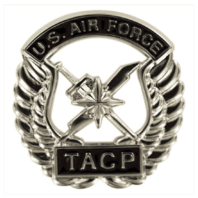 Vanguard AIR FORCE BERET BADGE: TACTICAL AIR CONTROL PARTY: TACP