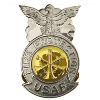 Vanguard AIR FORCE BADGE: ASSISTANT FIRE CHIEF