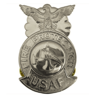 Vanguard AIR FORCE BADGE: FIRE PROTECTION - REGULATION SIZE