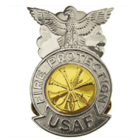 Vanguard AIR FORCE BADGE: DEPUTY FIRE CHIEF - REGULATION SIZE