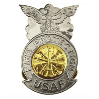 Vanguard AIR FORCE BADGE: FIRE CHIEF - REGULATION SIZE
