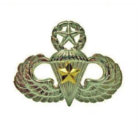 Vanguard ARMY BADGE: MASTER COMBAT PARACHUTE FIFTH AWARD