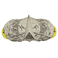 Vanguard AIR FORCE BADGE: SPACE AND MISSILE - REGULATION SIZE