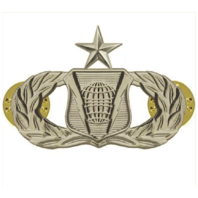 Vanguard AIR FORCE BADGE: COMMAND AND CONTROL: SENIOR - REGULATION SIZE
