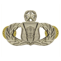 Vanguard AIR FORCE BADGE: COMMAND AND CONTROL: MASTER - REGULATION SIZE