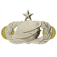 Vanguard AIR FORCE BADGE: MANPOWER AND PERSONNEL: SENIOR