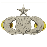 Vanguard AIR FORCE BADGE: CHAPLAIN ASSISTANT: SENIOR - REGULATION SIZE