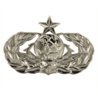 Vanguard AIR FORCE BADGE: CYBERSPACE SUPPORT: SENIOR - REGULATION SIZE