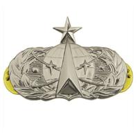 Vanguard AIR FORCE BADGE: SPACE OPERATIONS: SENIOR - MIDSIZE