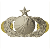 Vanguard AIR FORCE BADGE: ACQUISITION: SENIOR - MIDSIZE