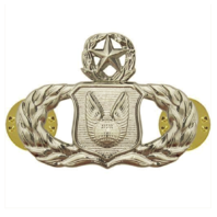 Vanguard AIR FORCE BADGE: OPERATIONS SUPPORT: MASTER - MIDSIZE