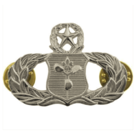 Vanguard AIR FORCE BADGE: WEATHER OPERATIONS: MASTER - MIDSIZE