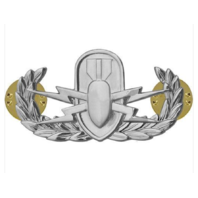 Vanguard AIR FORCE BADGE: EXPLOSIVE ORDNANCE DISPOSAL - MIDSIZE