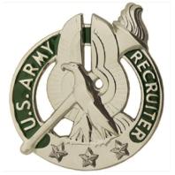 Vanguard ARMY IDENTIFICATION BADGE: RECRUITER