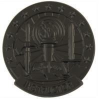 Vanguard ARMY IDENTIFICATION BADGE SUBDUED METAL BASIC INSTRUCTOR - BLACK