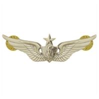 Vanguard ARMY BADGE: SENIOR AIRCRAFT CREWMAN: AIRCREW - REGULATION SIZE, MIRROR FINISH