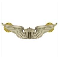 Vanguard ARMY BADGE: AVIATOR - REGULATION SIZE, MIRROR FINISH