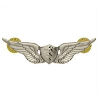 Vanguard ARMY BADGE: FLIGHT SURGEON - REGULATION SIZE, MIRROR FINISH