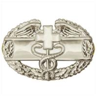 Vanguard ARMY BADGE: COMBAT MEDICAL FIRST AWARD - MIRROR FINISH