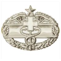 Vanguard ARMY BADGE: COMBAT MEDICAL SECOND AWARD - MIRROR FINISH