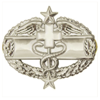 Vanguard ARMY BADGE: COMBAT MEDICAL THIRD AWARD - MIRROR FINISH