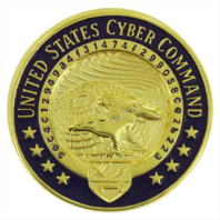Vanguard IDENTIFICATION DRESS BADGE: UNITED STATES CYBER COMMAND