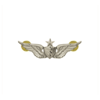 Vanguard ARMY DRESS BADGE: SENIOR FLIGHT SURGEON - MINIATURE, MIRROR FINISH