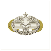 Vanguard ARMY DRESS BADGE: COMBAT MEDICAL SECOND AWARD - MINIATURE, MIRROR FINISH