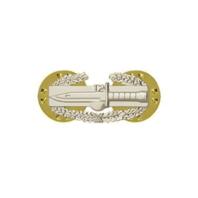 Vanguard ARMY DRESS BADGE: COMBAT ACTION - MINIATURE, MIRROR FINISH