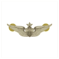 "Vanguard ARMY BADGE: SENIOR AVIATOR - 2"" BLOUSE MINIATURE, MIRROR FINISH"