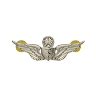 Vanguard ARMY BADGE: MASTER FLIGHT SURGEON - MINIATURE, MIRROR FINISH