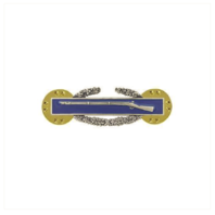 Vanguard ARMY BADGE: COMBAT INFANTRY FIRST AWARD - BLOUSE, SILVER OXIDIZED