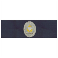 Vanguard COAST GUARD BADGE: ENLISTED ADVISOR E8 COMMAND: SENIOR - RIPSTOP FABRIC