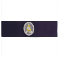 Vanguard COAST GUARD BADGE: ENLISTED ADVISOR E8 UNIT: SENIOR - RIPSTOP FABRIC