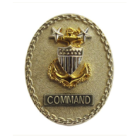 Vanguard COAST GUARD BADGE: ENLISTED ADVISOR E9 COMMAND - REGULATION SIZE