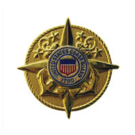 Vanguard COAST GUARD BADGE: COMMANDANT STAFF - MINIATURE