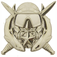 Vanguard ARMY BADGE: SPECIAL OPERATIONS DIVING SUPERVISOR - MIRROR FINISH