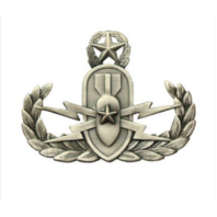 Vanguard BADGE MASTER EXPLOSIVE ORDNANCE DISPOSAL - REGULATION, OXIDIZED